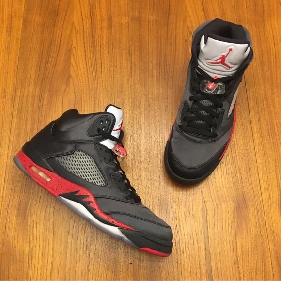 Nike Air Jordan 5 Satin Bred Size 13